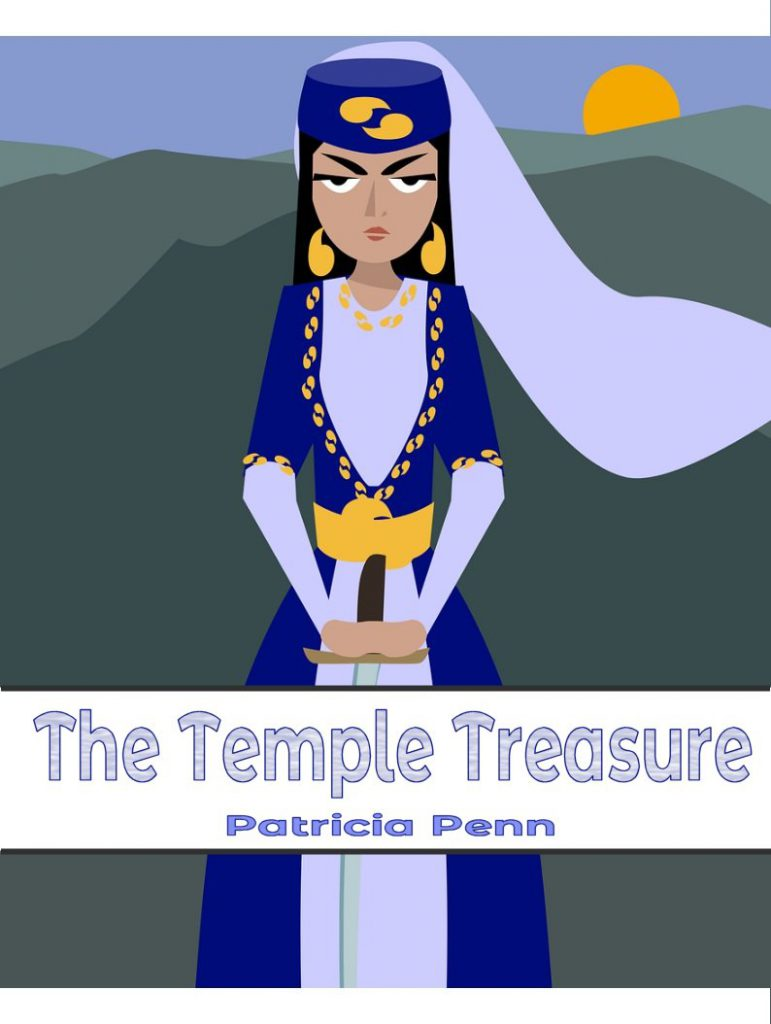 Cover of Lesfic story The Temple Treasure by Patricia Penn