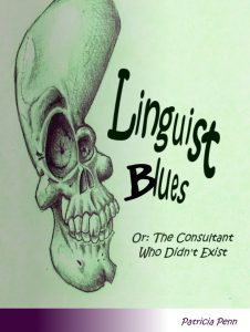 Cover of the lesbian fiction ebook Linguist Blues by Patricia Penn